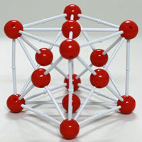 XCM-001:Crystal structure model Cu - Copper