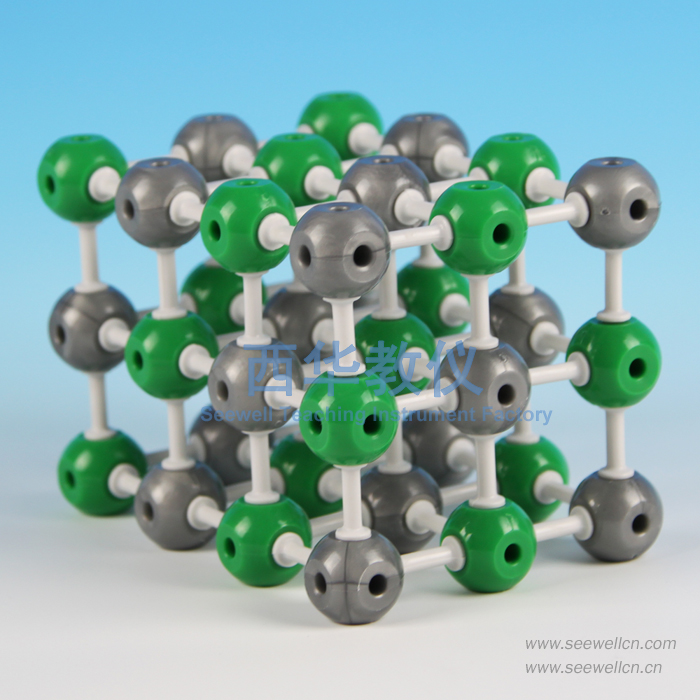 XCM-001-2:Crystal structure model Sodium Chloride(NaCl)