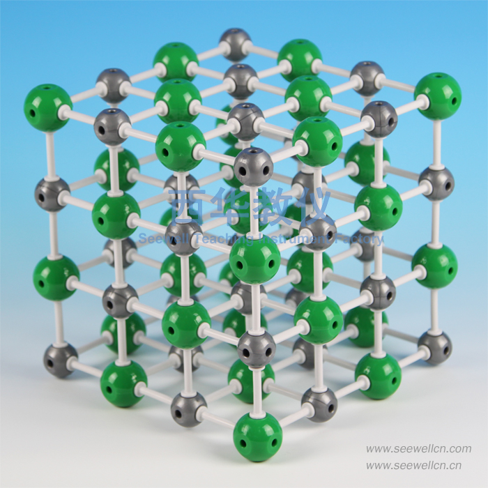 XCM-001-7:Crystal structure model Sodium Chloride(NaCl)
