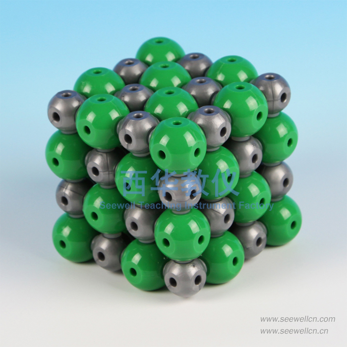 XCM-001-8:Crystal structure model Sodium Chloride(NaCl)