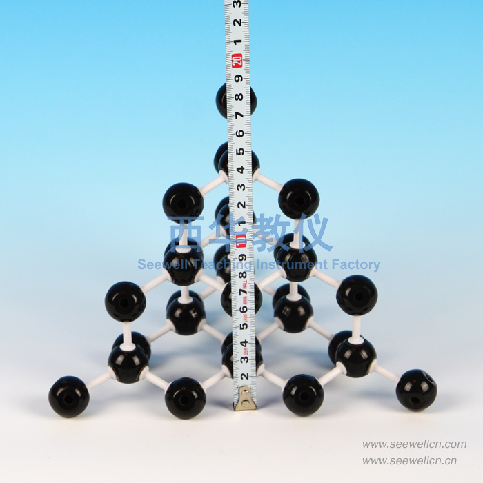 XCM-028-Crystal-Model: NaCl, Diamond, Graphite, Copper