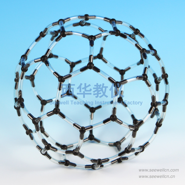 XCM-006-S:Crystal structure modelCarbon-60(C60)