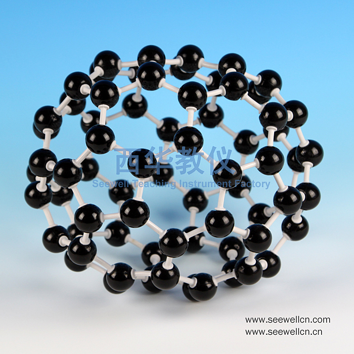 XCM-020-Crystal-structure-model-Carbon-70-C70