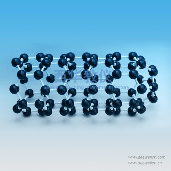 Crystal structure model C20, C60, C70, Carbon Nanotube