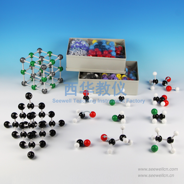 XMM-028-Large-Set-Complex-Oraganic-Molecular-Models-Set-For-Teacher