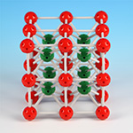 Crystal structure model Cesium Chloride(CsCl)