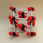 XCM-007 Crystal structure_model Carbon dioxide (CO2)