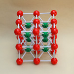 Ionic Crystal Model Cesium Chloride(CsCl)
