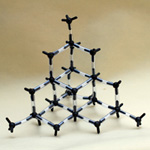 Crystal structure model Carbon Allotrope Diamond