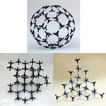 Crystal structure model Carbon Allotrope