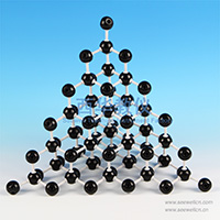 Crystal structure model Diamond
